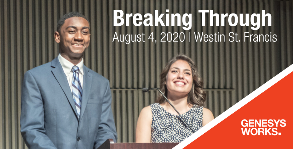 Genesys Works Bay Area Breaking Through Ceremony Class of 2020 Rescheduled