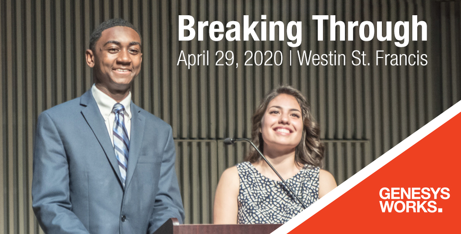 Genesys Works Bay Area Breaking Through Ceremony Class of 2020 2